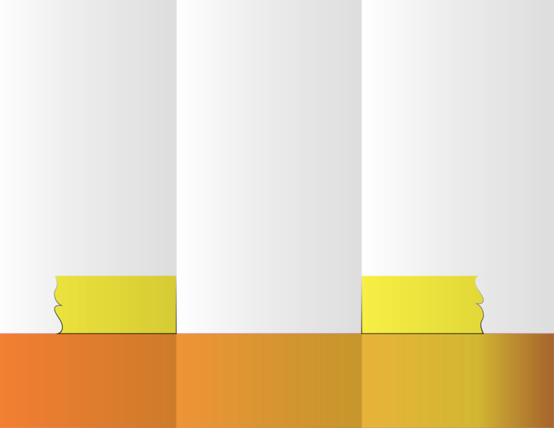 orange-yellow brochure background sample