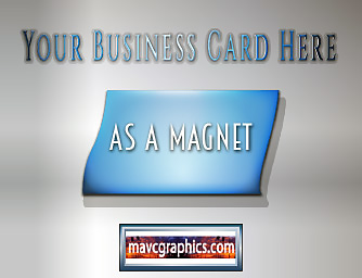 Business Card Size Magnets